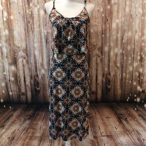 Floral Midi Summer Stretch Dress Size 6 (UK 10)